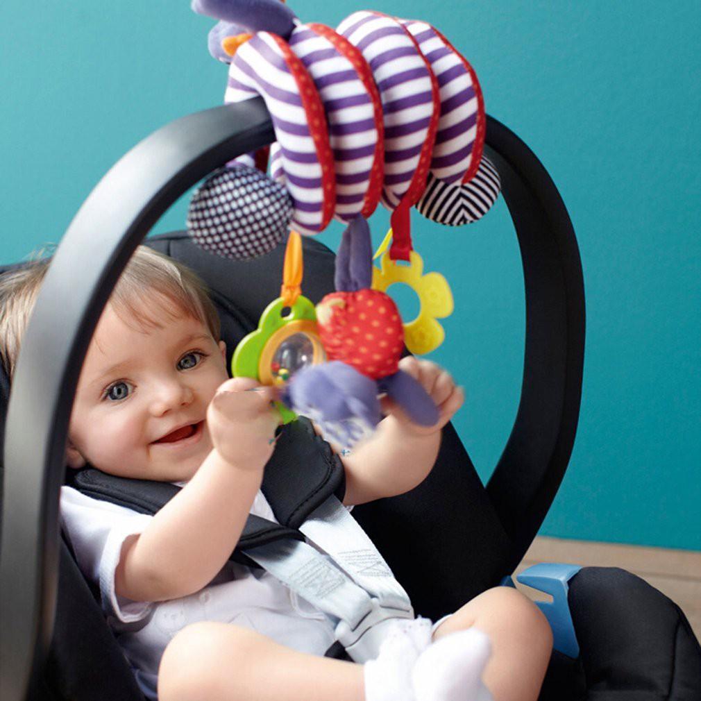 Stroller Car Seat Mainan Gantung Lucu Untuk Tempat Tidur & Kereta Bayi Untuk Anak Bayi Baru Lahir