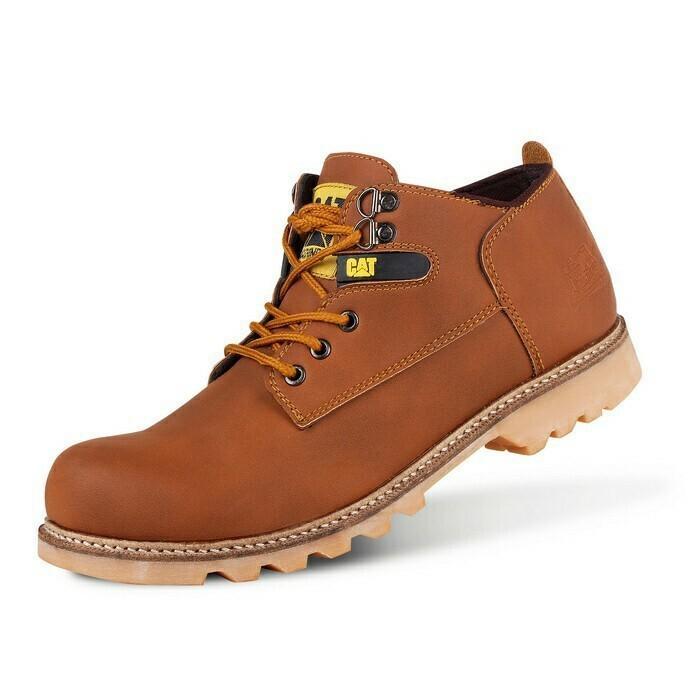 Sepatu Boots Pria Caterpillar Nitrogen Safety Ujung Besi - Sepatu Proyek -  Free Kaos Kaki af58e1b85e