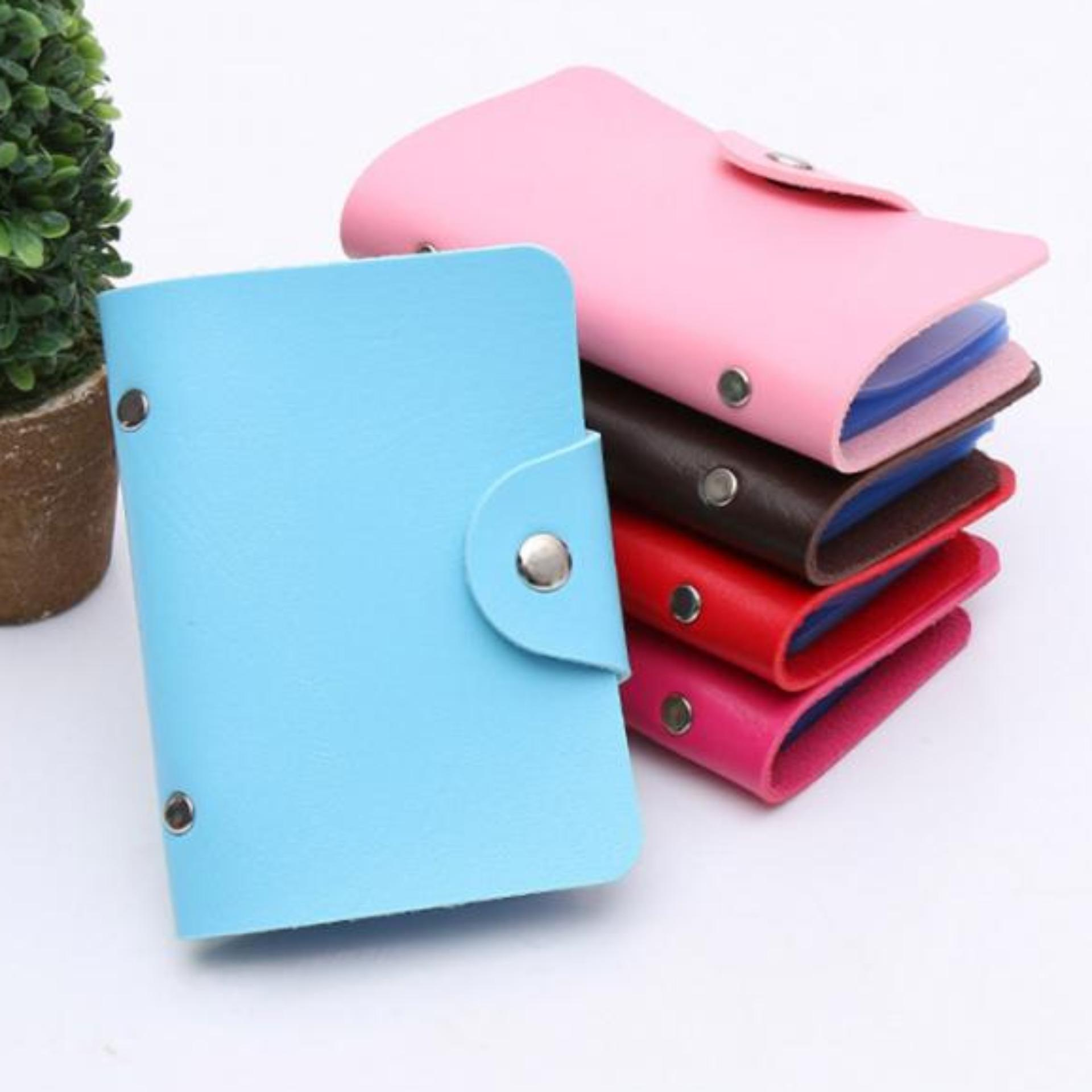 Buy Sell Cheapest Zeebee Tas Wanita Best Quality Product Deals Dompet Trendy Kartu 24 Slot Pu Leather Card Holder Tempat Nama