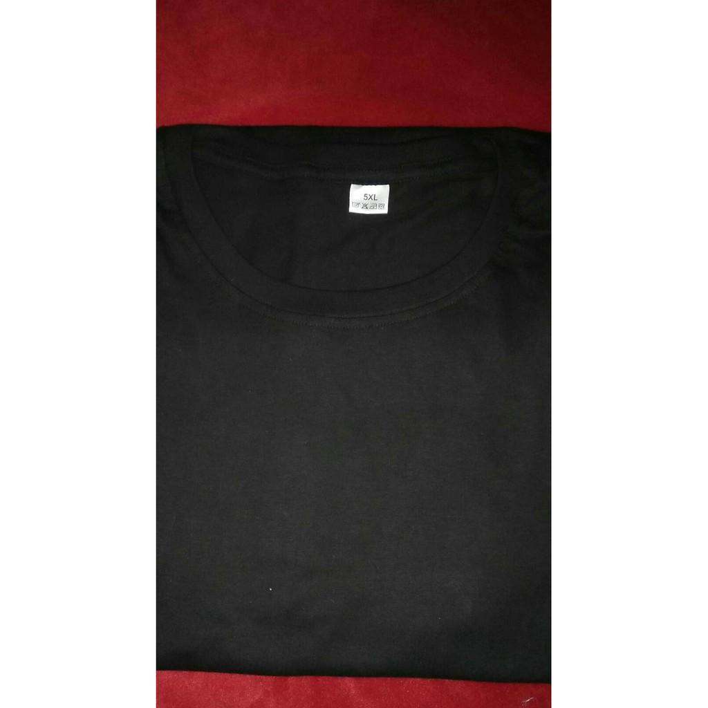 Big Size 5Xl!! Tshirt/Kaos Polos Combed 20S Big Size 5Xl - Sale Promo!!
