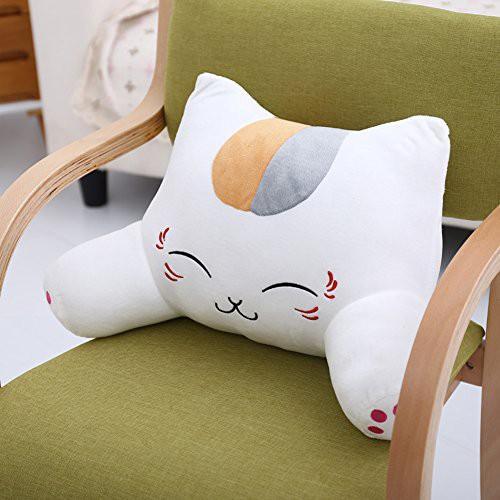 Bantal punggung sandaran kursi mobil kantor office boneka kucing cat
