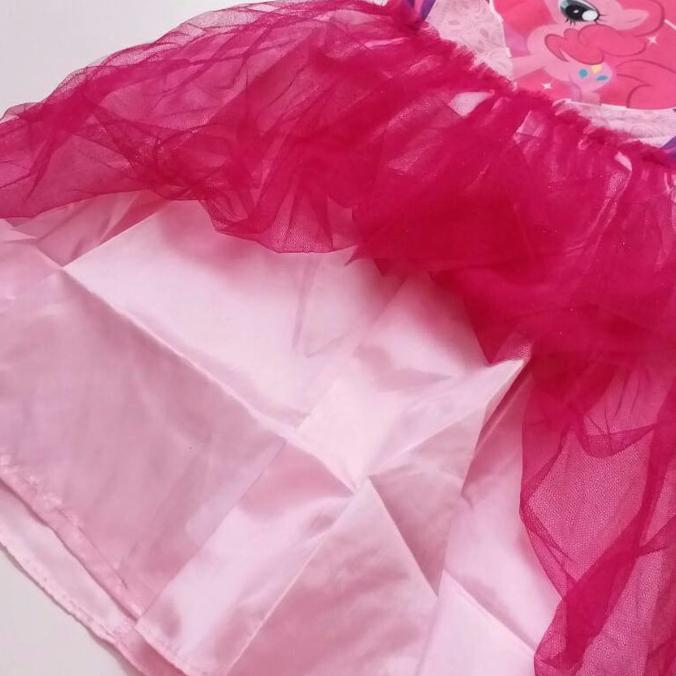 PROMO SALE BAJU PESTA ANAK PEREMPUAN DRESS TUTU NAKNAK 5 PINKIE PIE LITTLE PONY  FZ001XO