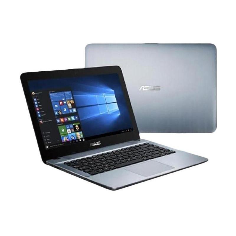 Asus X441NA-PQ402T Notebook - Silver [Pentium Quad Core N4200/4 GB/500 GB/Win 10/14