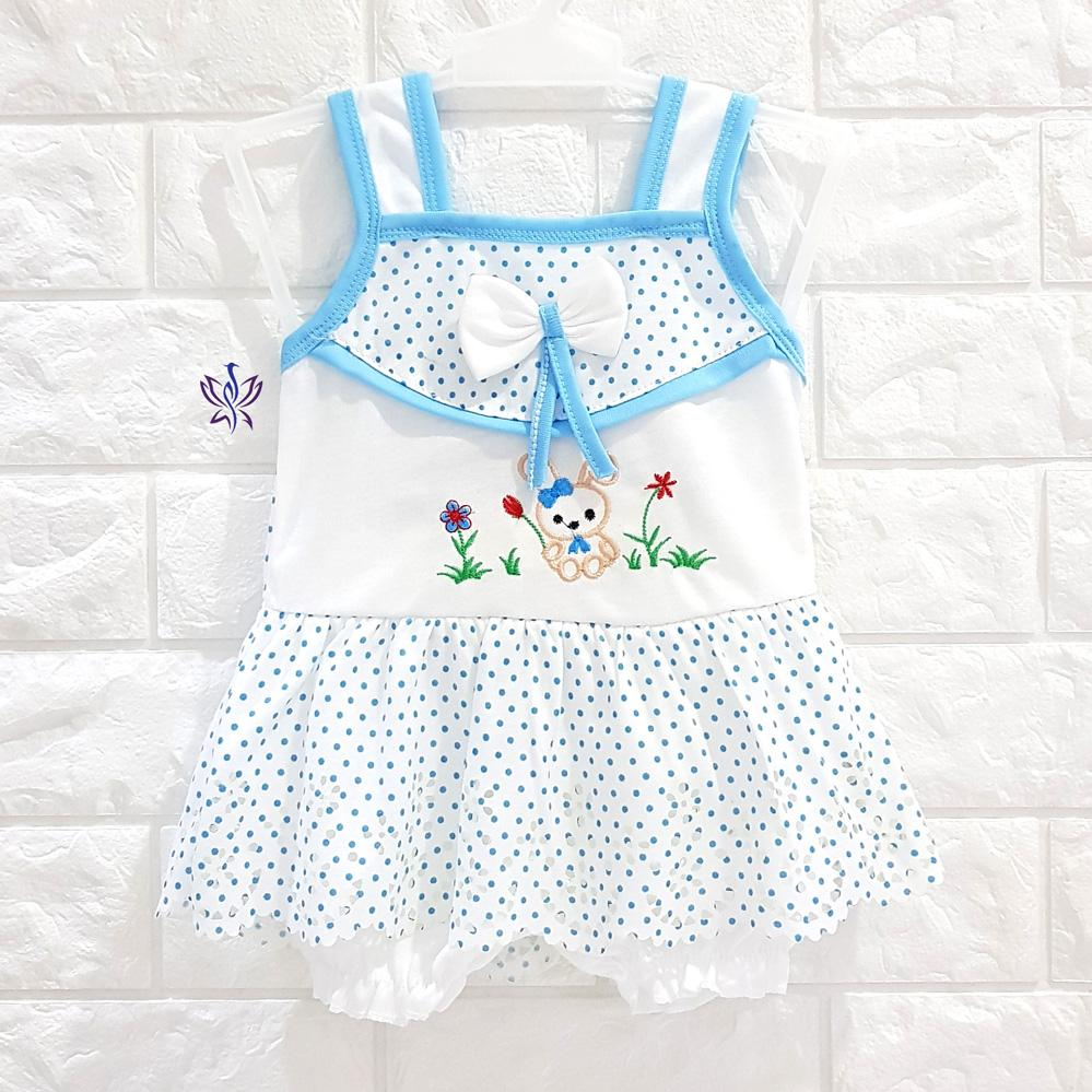 Kim Dress Baju Anak dan Bayi Perempuan Lucu RABBITLASER ZX