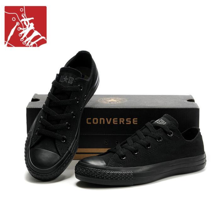 Sepatu Converse Allstar Hitam-Sepatu sekolah-sepatu kets-Sepatu Snikers