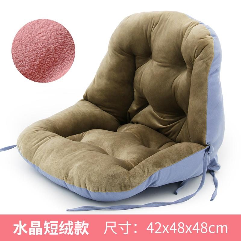 One-piece throw pillow One-piece Office Seat throw pillow Household Chair Sitting throw pillow Thick on the Ground Waist Support Back throw pillow