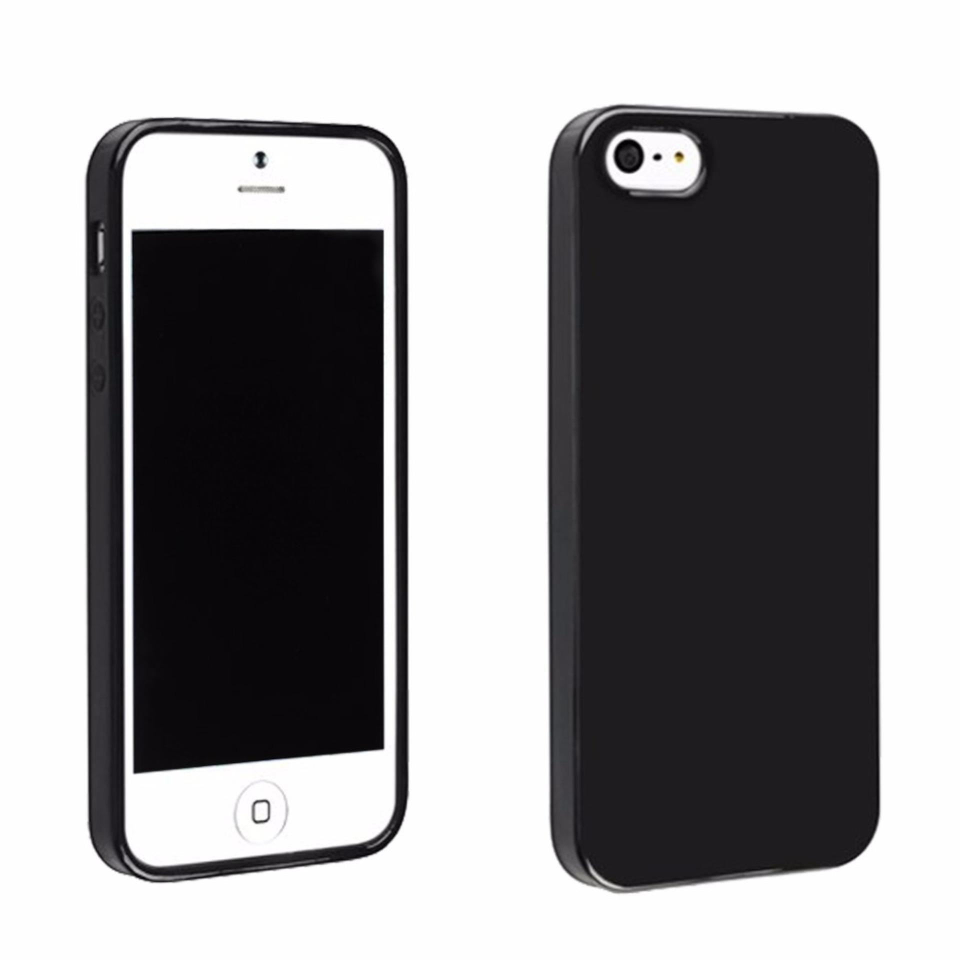 Winning Case Slim Black Matte Iphone 5 5S 5SE Baby Skin Softcase Ultra Thin  Jelly Silikon bee4999313