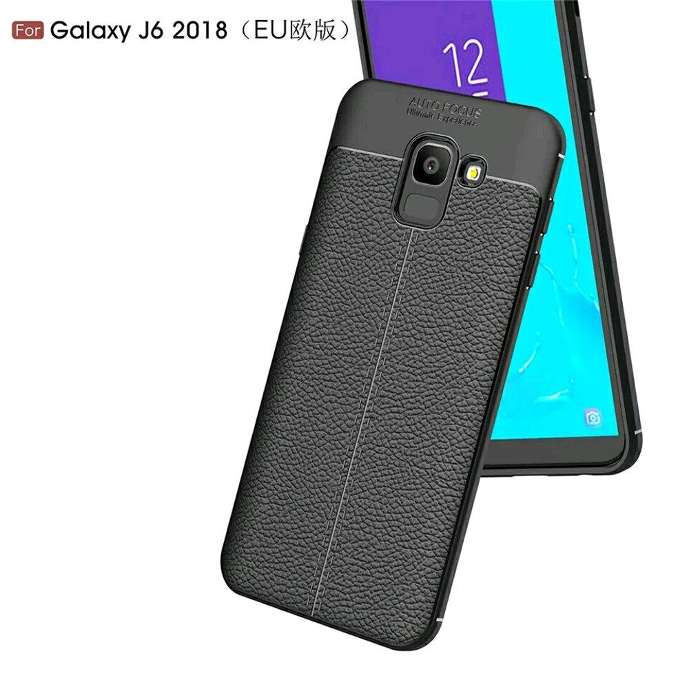 Case Auto Focus Softcase Casing for Samsung J6 2018 - Hitam