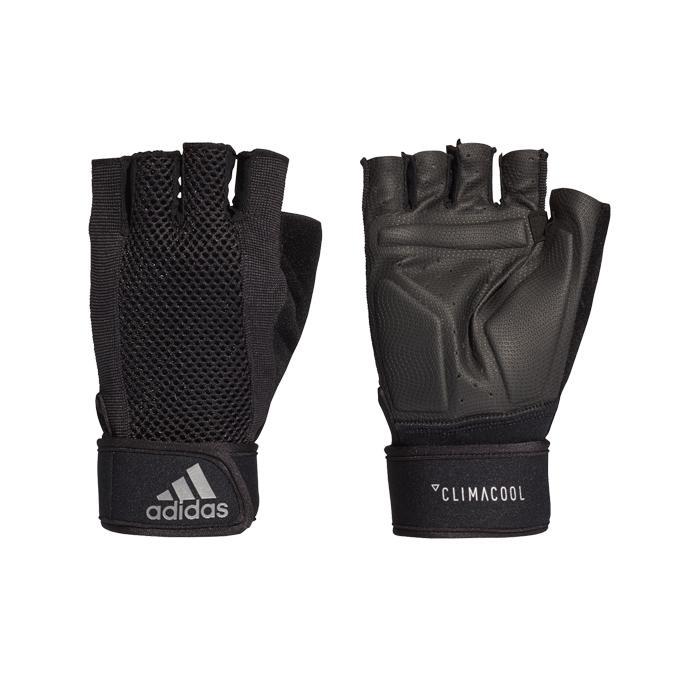 Adidas Performance Cool Sarung Tangan Olahraga Senam Fitness Gym - Black CF6137