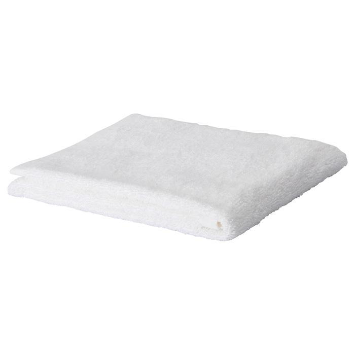 IKEA HURVEN Handuk tangan, putih Ukuran 40x70 cm