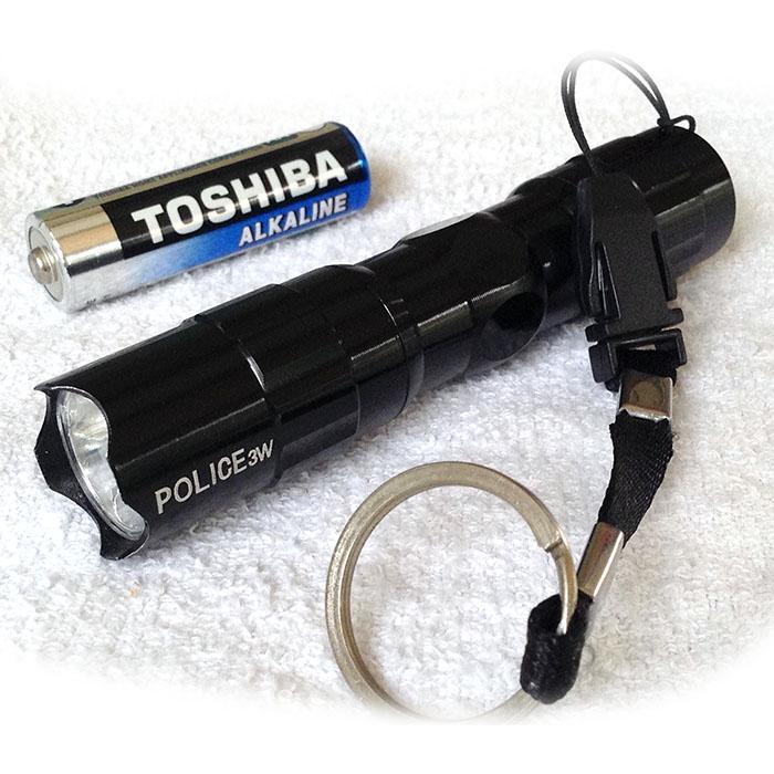 Senter Police 3W Mini Flashlight / senter polisi / senter led / senter murah berkualitas