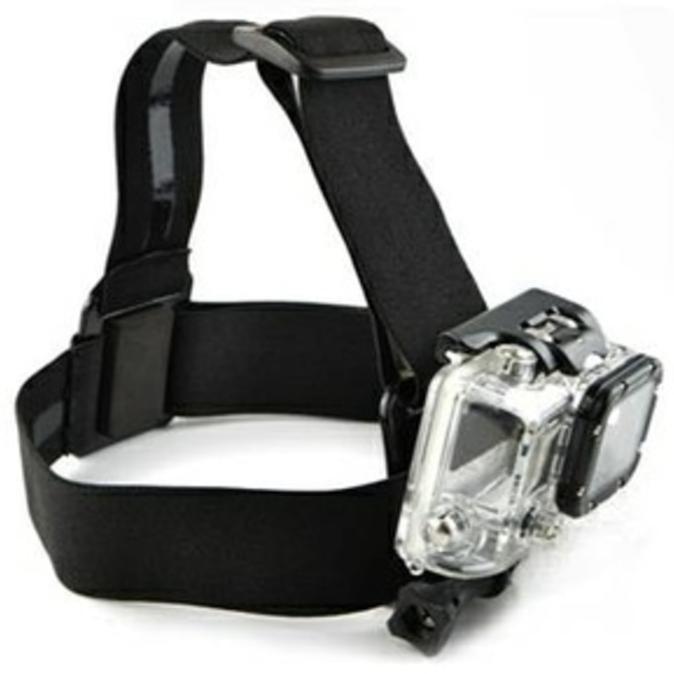 Premium! Murah Diskon! Head Strap Action Cam / Headstrap Aksesoris Gopro,Sjcam,Brica,Sport Ca