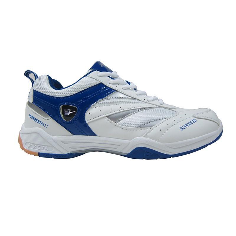 Sepatu Badminton/Bulutangkis/Tennis KETA 111 _ White Blue