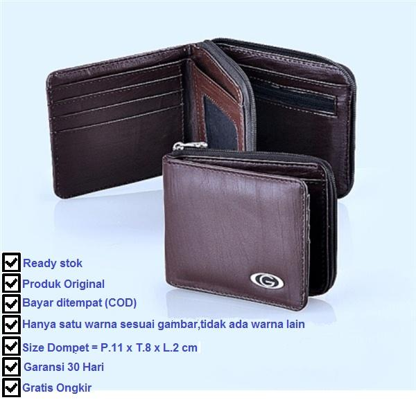 Garsel Dompet Casual Pria - Coklat By Xml Store.