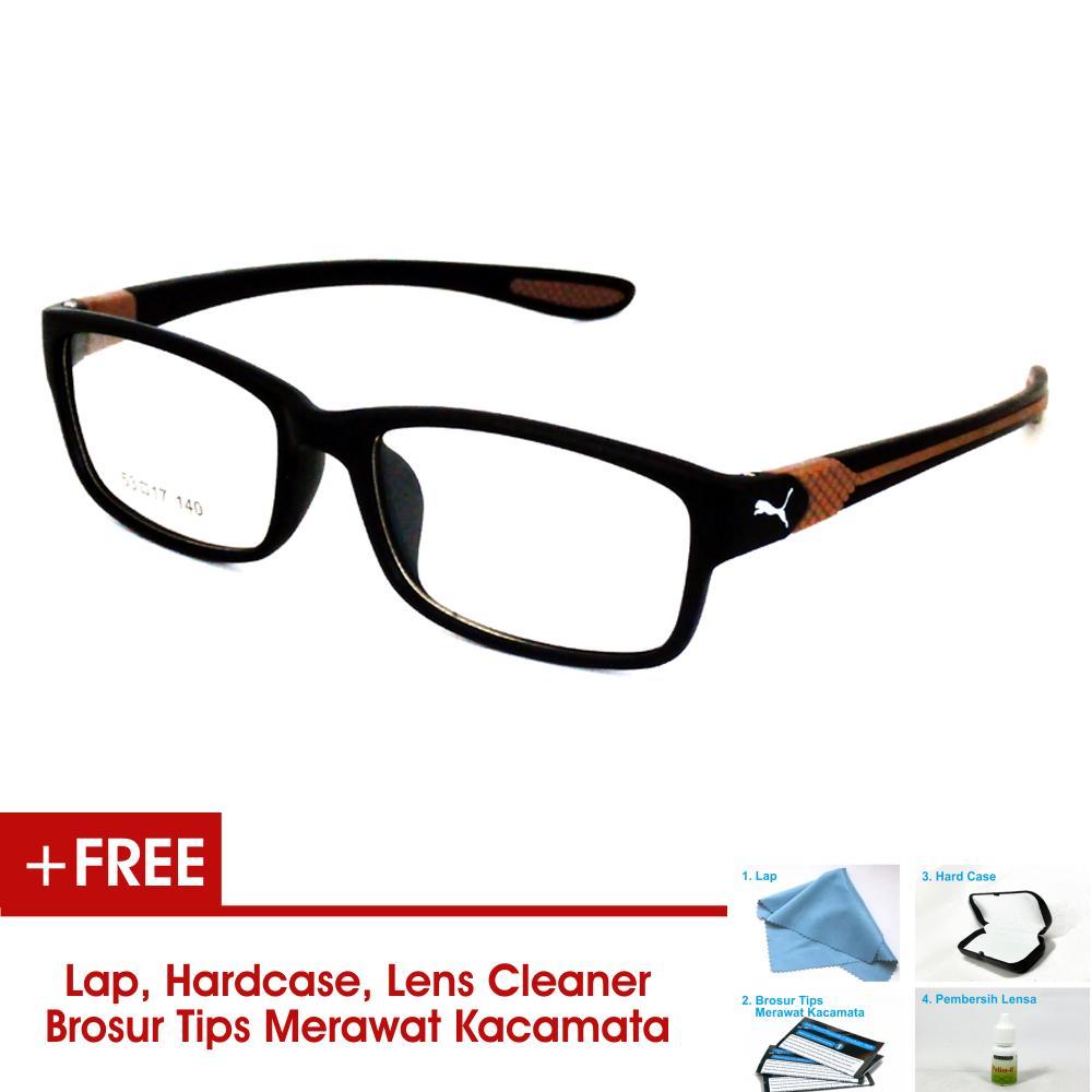 Harga Kacamata Minus Optik Sahabat Terbaru Termurah Bulan Ini Kaca Mata Cowo Frame Pria Sporty P833 Hitam Coklat Bisa Dipasang Lensa Di Terdekat
