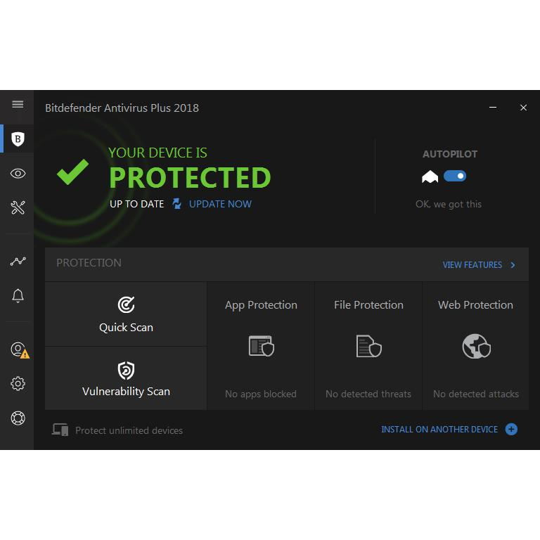 Bitdefender Antivirus Plus 2018 - 1 License