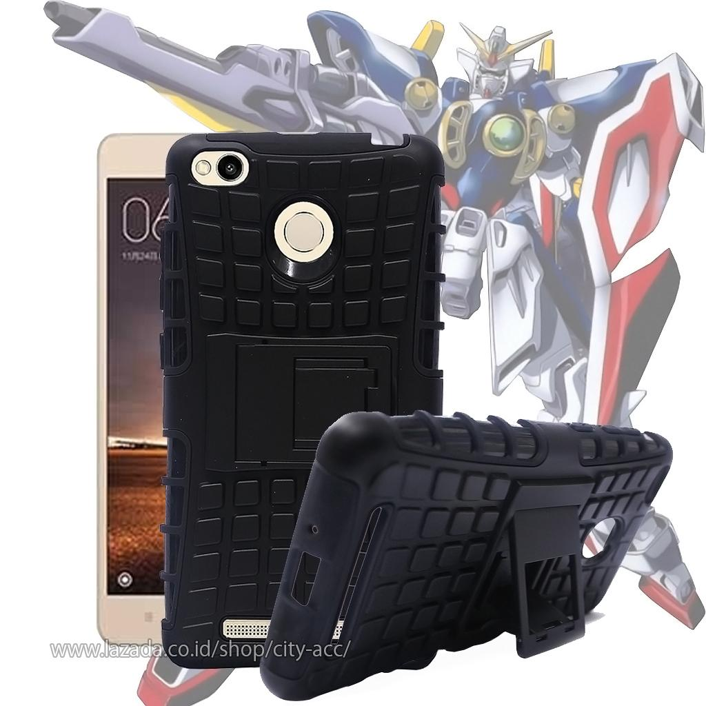 Case for Xiaomi Redmi 3 / Redmi 3S / Redmi 3 Pro Rugged Armor With Kickstand
