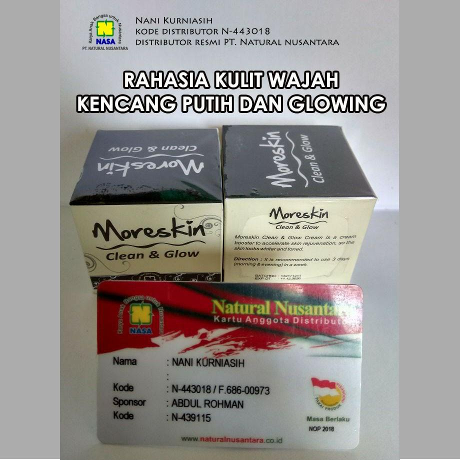 Fitur Moreskin Clean And Glow Nasa Original Dan Harga Terbaru Info Facial Cleanser
