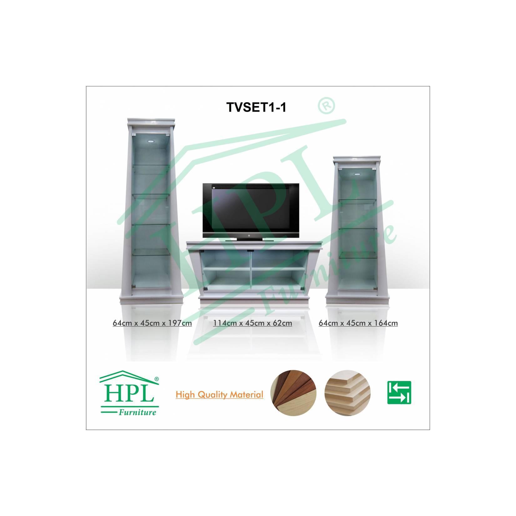 MEJA TV SET 3in1 HPL-TVSET01