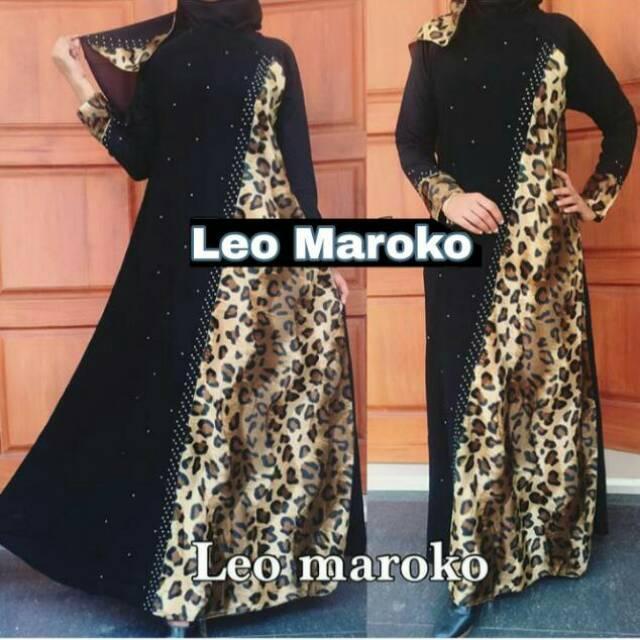 Abaya Gamis arab Dress LEO MAROKO