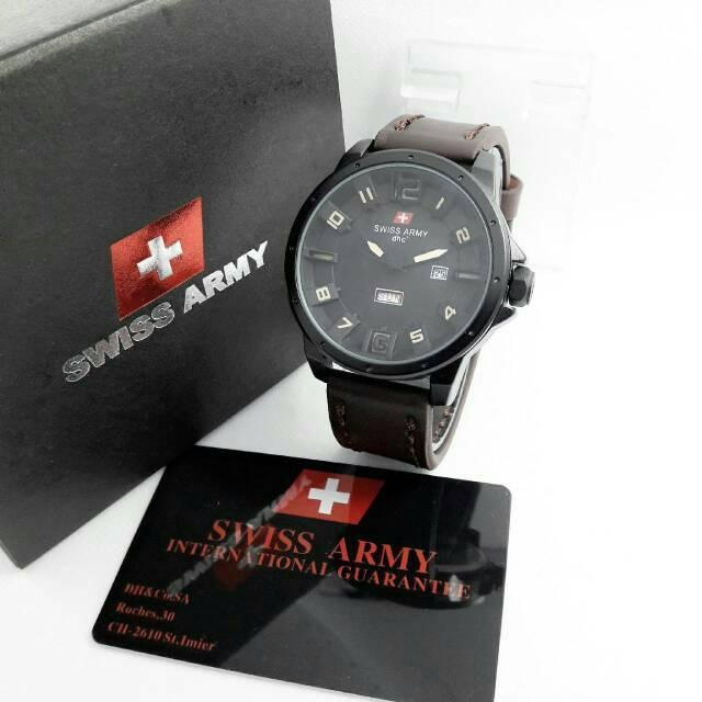 Jam Tangan Pria Swiss Army Original (Quiksilver, Ripcurl, GC, Fossil)