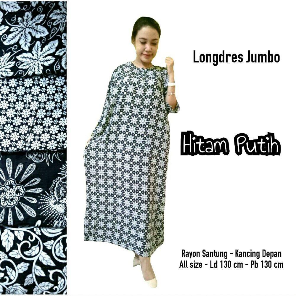 HARGA 5 BUAH LONGDRES JUMBO di lapak pradia batik pekalongan nanacantik308