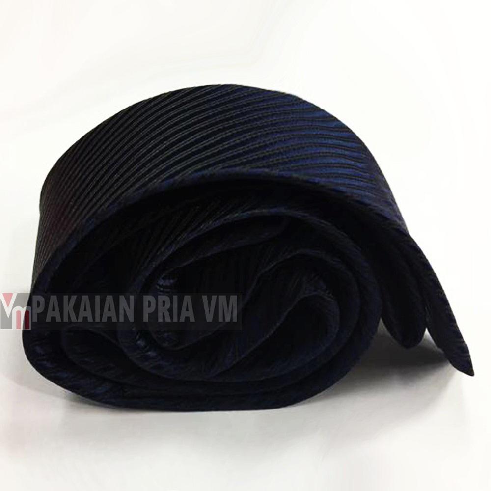 Kehebatan Vm Dasi Polos Garis Slim 2 Inch Biru Dongker Navy Tie Hitam Corak Gambar Produk Lengkap
