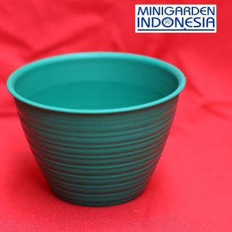 Bandingkan Toko Pot Bunga Diameter 30 cm Warna Pot tanaman Bunga Plastik  semai benih pot tawon 2aab6f3bb6