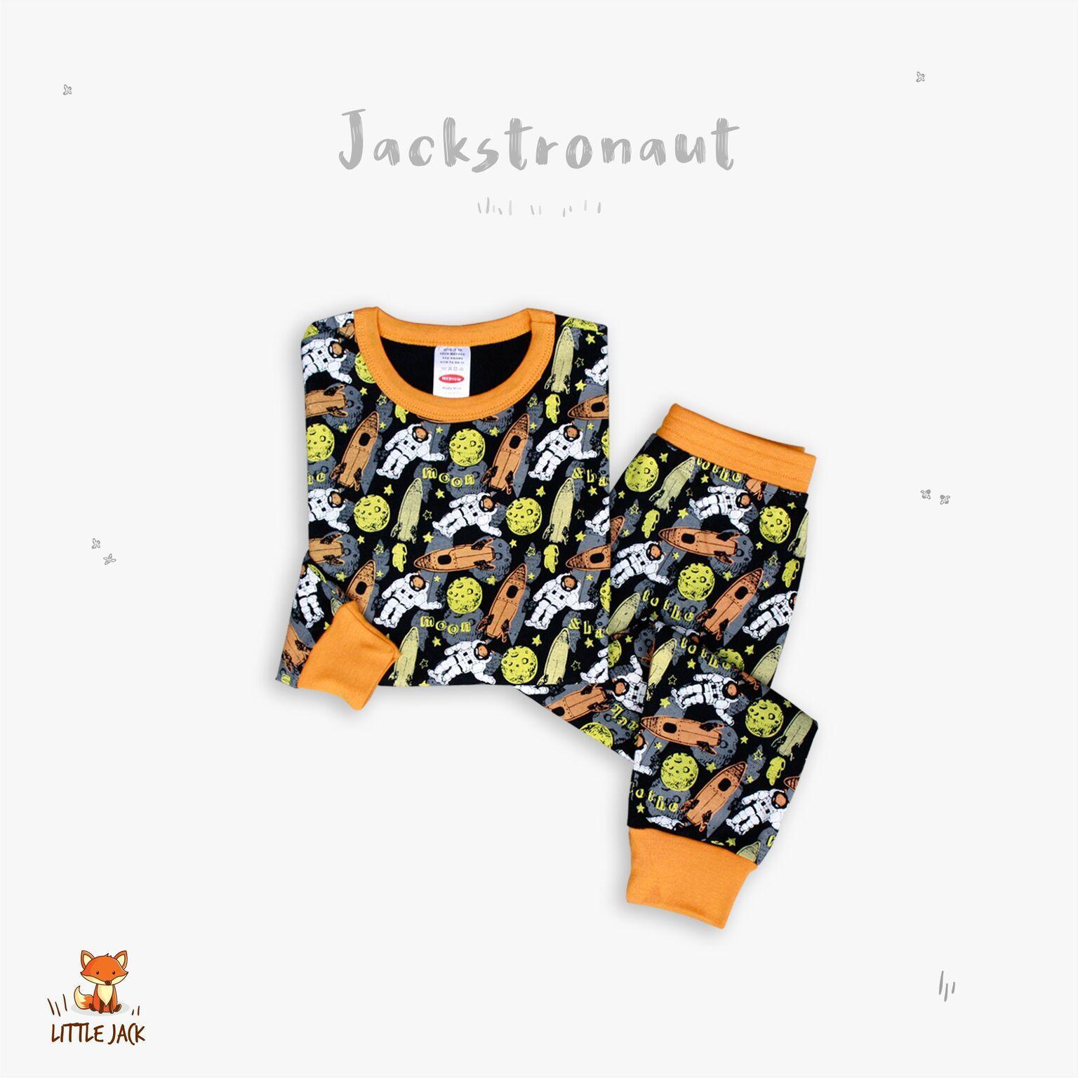 Jackstronaut Piyama Anak Laki Perempuan Cowo Cewe/ Baju Bayi Lucu Pajamas Kids