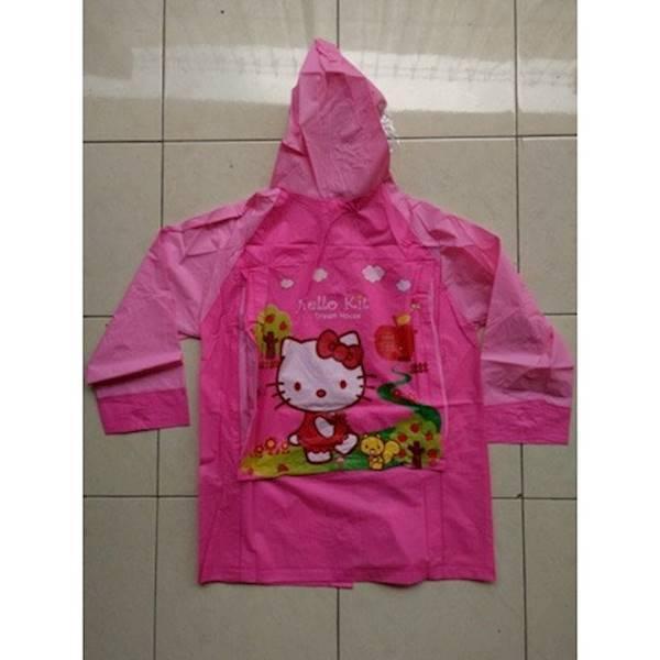 Jas Hujan (Raincoat) Anak Hello Kitty Dan Princess - Qlnrc3