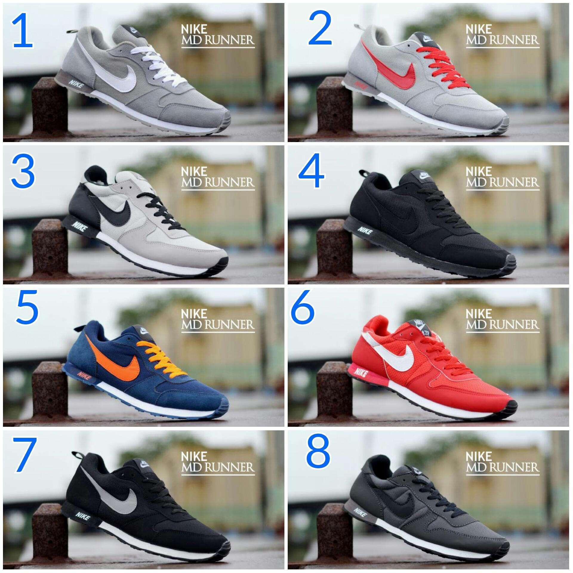 Promo Sepatu Murah Nike MD Runner Casual Pria Original Vietnam Fashion