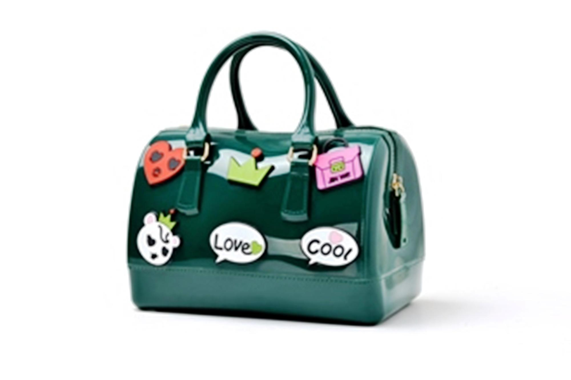 Tas Fashion Wanita Import, Tas Wanita, Tas Import Grandy's Jelly Furla Patch Sticker