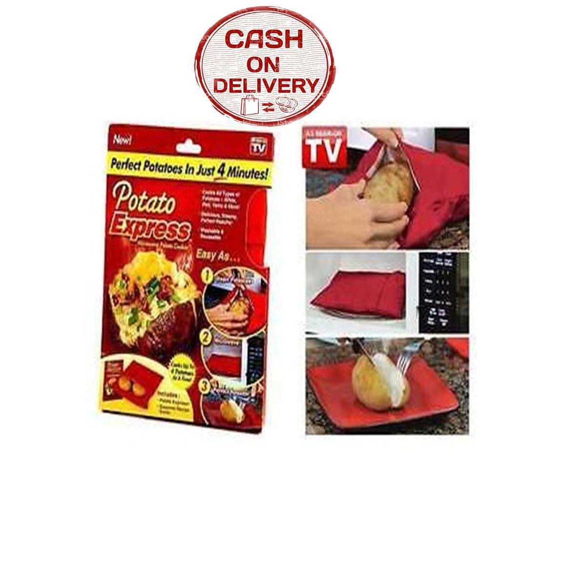 Sien Collection Potato Express Microwave / Potato Cooker / Potato Express / Oven Kentang / Pembungkus Kentang Murah