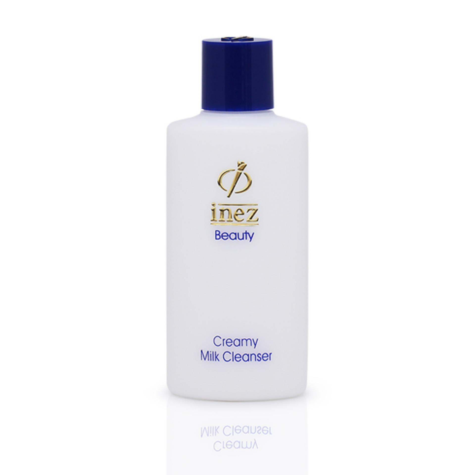 Buy Sell Cheapest Terlaris Inez Fine Best Quality Product Deals Line Eyeliner Black Creamy Milk Cleanser