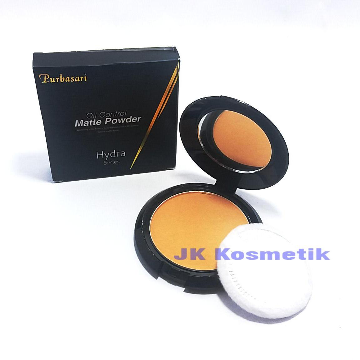 Purbasari Bedak Matte Powder Hydra Series Honey Beige