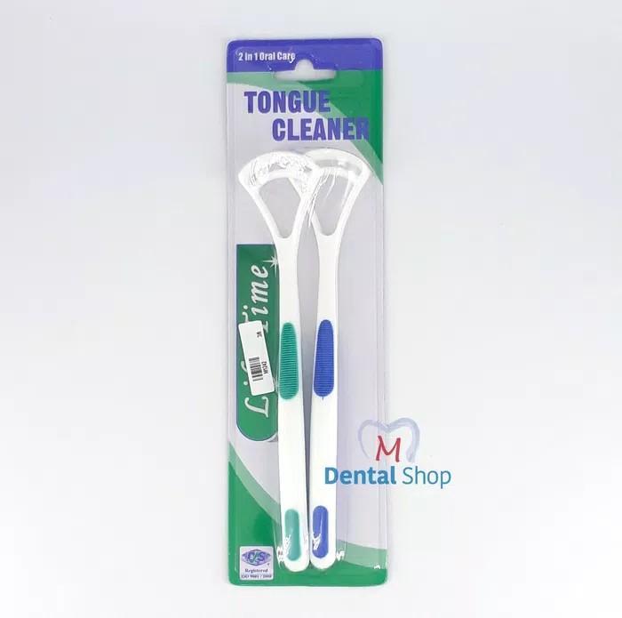 Pembersih Lidah Tongue Cleaner 2Pcs
