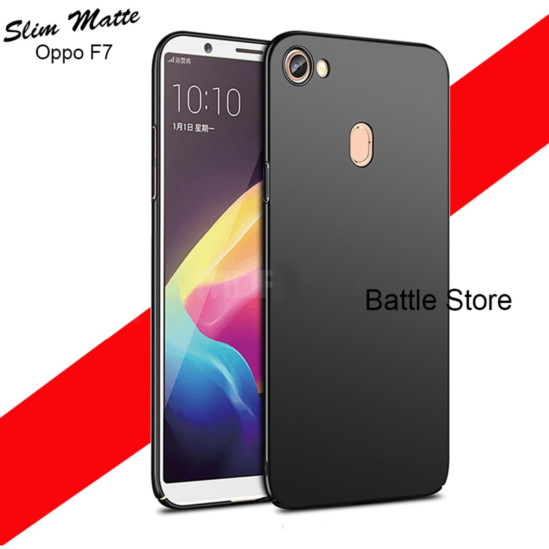 Case Slim Black Matte Oppo F7 Baby Skin Softcase Ultra Thin Jelly Silikon Babyskin - Black