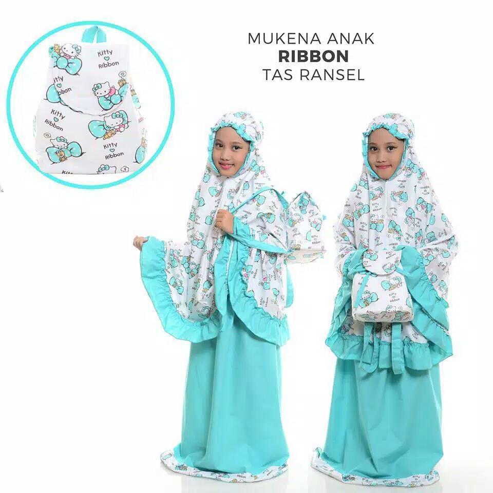Mukena Anak - Karakter Ribbon - Tosca - Ts Ransel