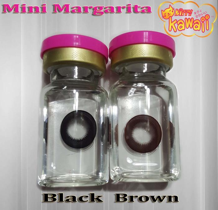 Warna Mata  Softlens Kitty Kawaii Mini Margarita Choco Coklat Natural