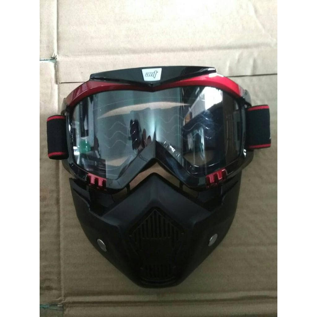 Google Glass Mask - Kacamata Google Bening T4054