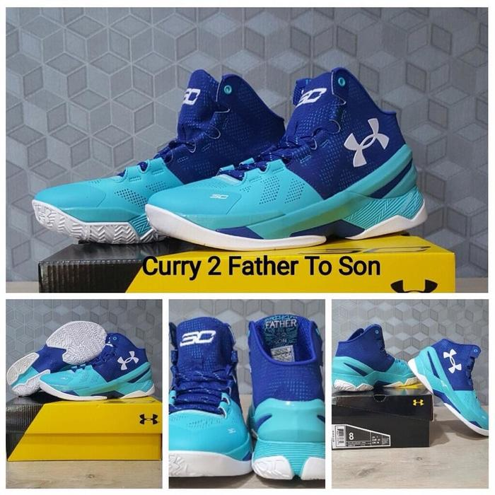 sepatu basket under armour curry 2 father to son / lebron/ kyrie/ nike