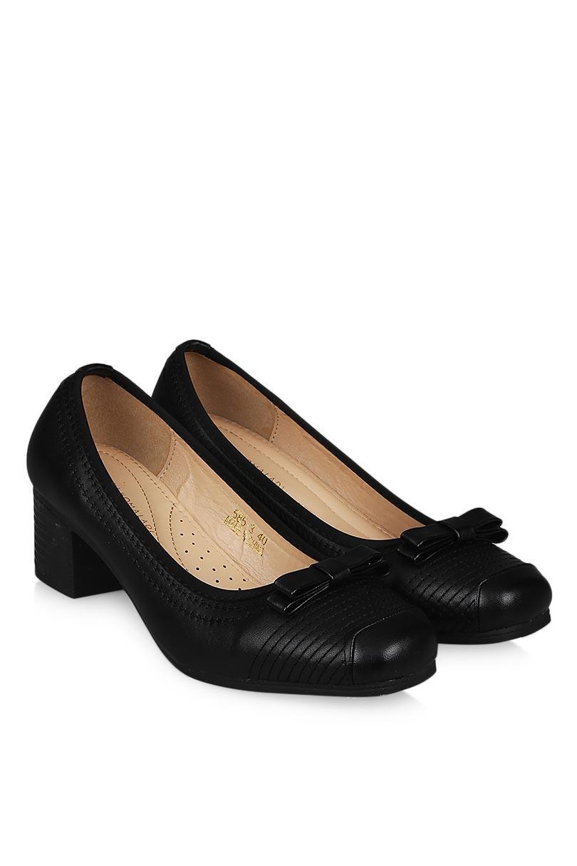 Yongki Komaladi Sepatu Fashion Sandal Heel Wanita Albertina Black