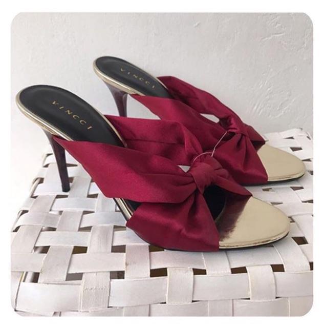 Sandal Vincci Heels Red