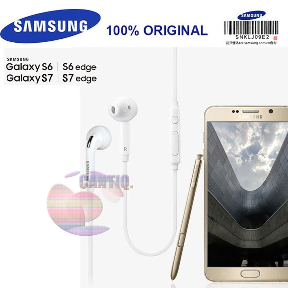 Rp 57.900. SAMSUNG EG920 Original Headset Samsung S6 Headsets Wired with Microphone for Samsung Galaxy Note 3 s7 ...