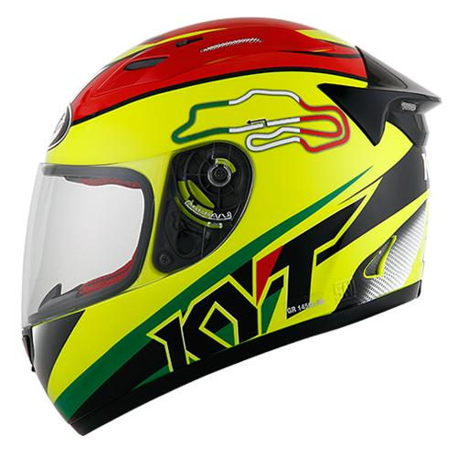 KYT RC 7 #15 Italy Yellow Fluo