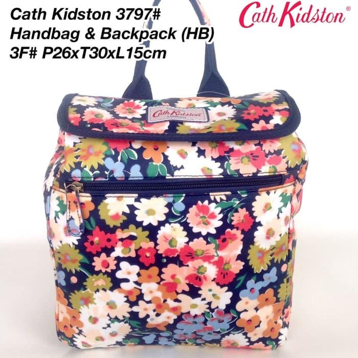 Tas Ransel Cath Kidston Handbag and Backpack 3 in 1 3797 - 14 - zwlzmF