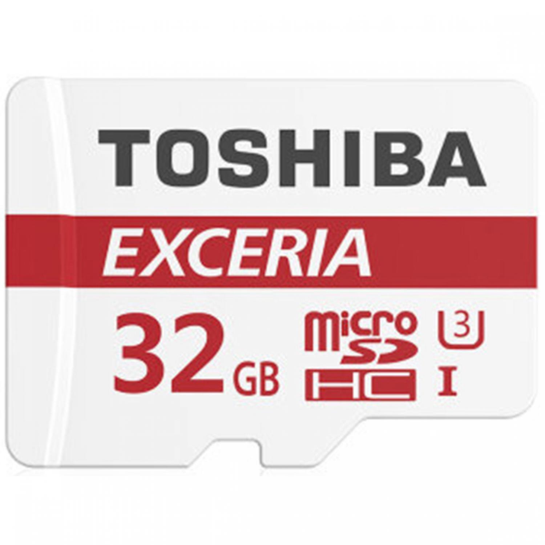 Toshiba Exceria MicroSDHC/XC UHS-I Class 10 U3 (90MB/s) with Adapter
