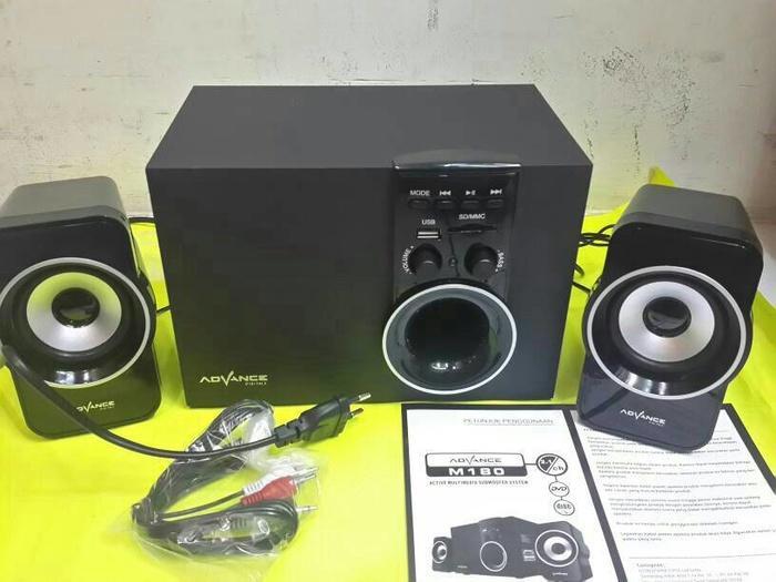 Promo Terpopuler Speaker advance m180 subwoofer
