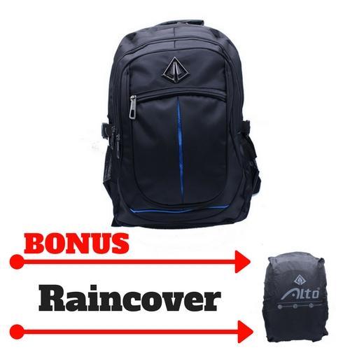 Tas Ransel Laptop Alto H-71580W - Daypack Backpack Sekolah Kerja Travel Bag Keren