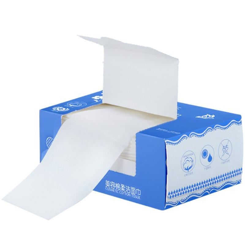 Disposable Washcloth Face Cleaning Towel Beauty Only Towel Pure Cotton Thick Compression Portable Roll Tissue Boxed Travel Philippines